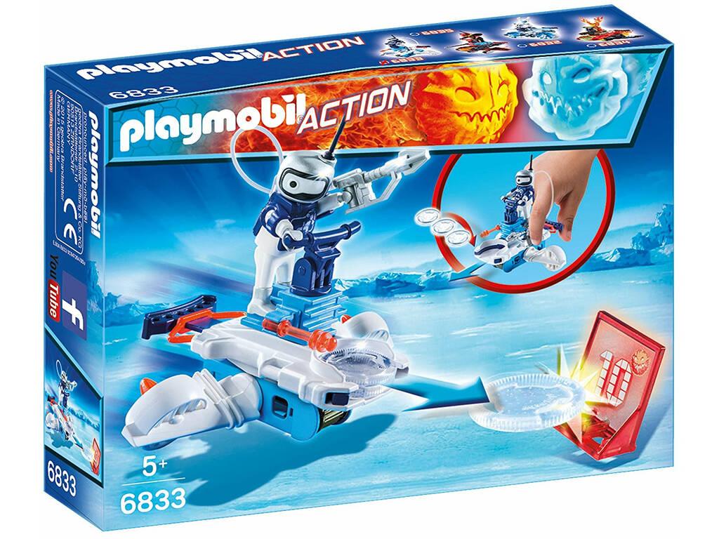 Playmobil Robot de Hielo con Lanzador 6833