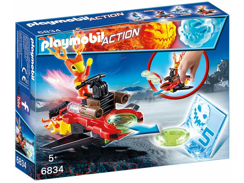 Playmobil Sparky con Lanzador 6834