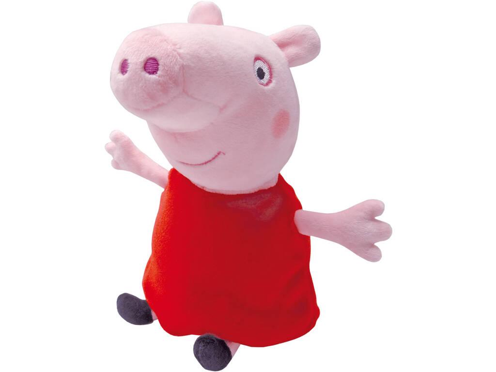 Peppa Pig Peluche 23 cm. Bandai 84873