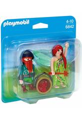 Playmobil Duo Pack Fee und Elfe 6842