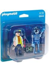imagen Playmobil Duopack Científico y Robot 6844
