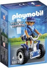 Playmobil Policière avec Gyropode 6877