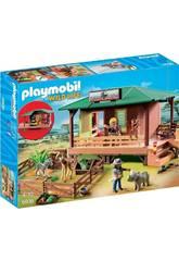imagen Playmobil Clínica Veterinaria de África 6936