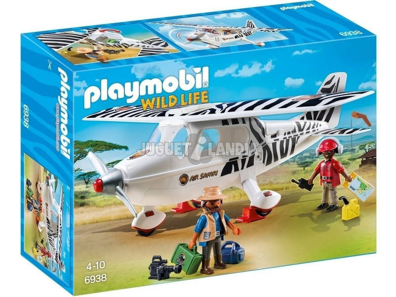 Playmobil Avión Safari 6938