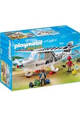 Playmobil Avion avec Explorateurs 6938