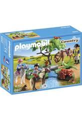 Playmobil Paseo de Ponis em Campo 6947