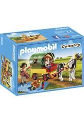 imagen Playmobil Picnic con Poni y Carro 6948