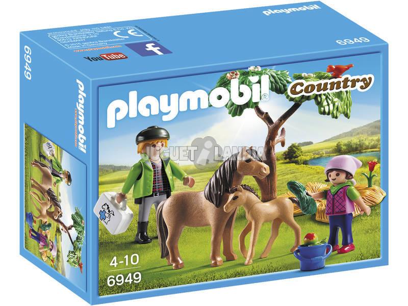 Playmobil Veterinario con Ponis 6949