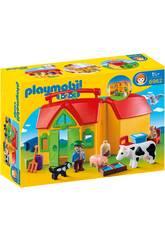 Playmobil Tierfarm von Playmobil 1 2 3