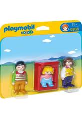 Playmobil 1,2,3 Parents Avec Bébé
