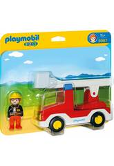 Playmobil 1,2,3 Camión de Bombero