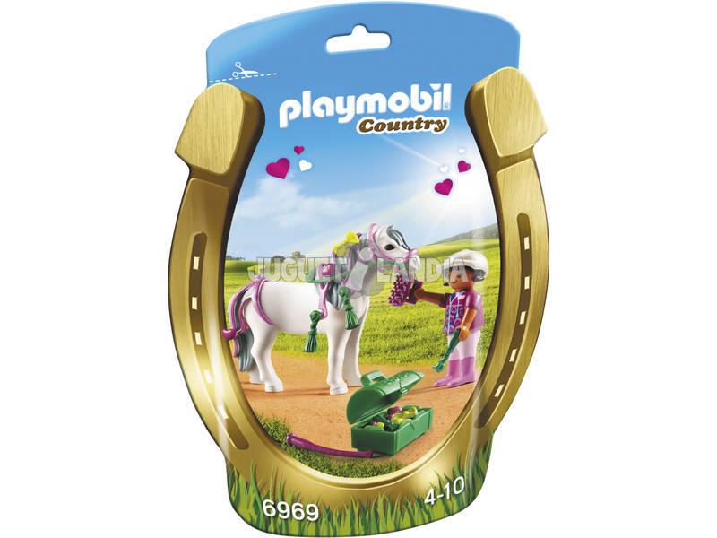 Playmobil Poney à Décorer Cœur 6969