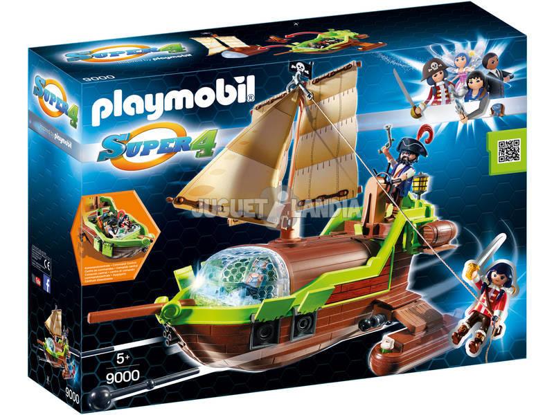 Playmobil Barco Pirata Camaleón con Ruby 9000