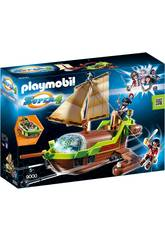 Playmobil Piratenschiff Chamäleon mit Ruby 9000