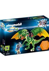 Playmobil Drago di Medievalia con Alex 9001