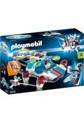 Playmobil Fulgurix com Agente Gene 9002