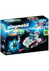 imagen Playmobil Skyjet con Dr. X y Robot 9003