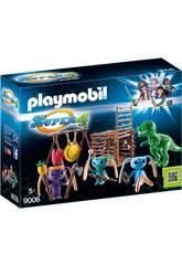 imagen Playmobil Guerrero Alien con Trampa T-Rex 9006