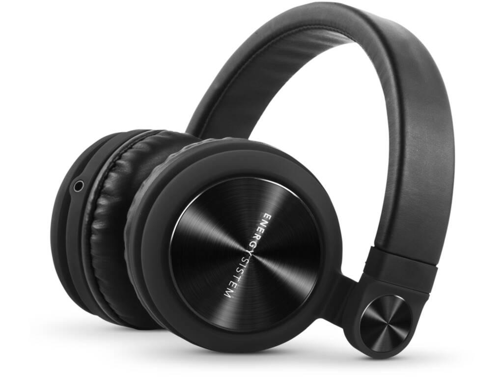 Auriculares Energy Headphones DJ2 Black Mic