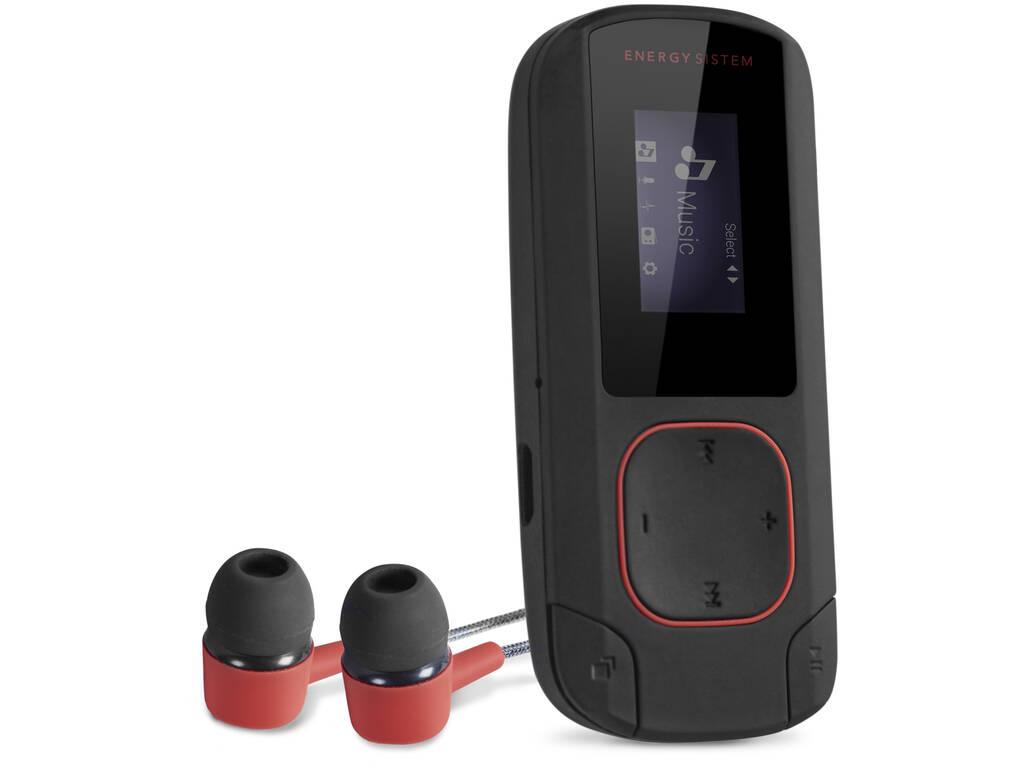 Energy MP3 Clip Bluetooth Coral 8GB, Radio FM y microSD