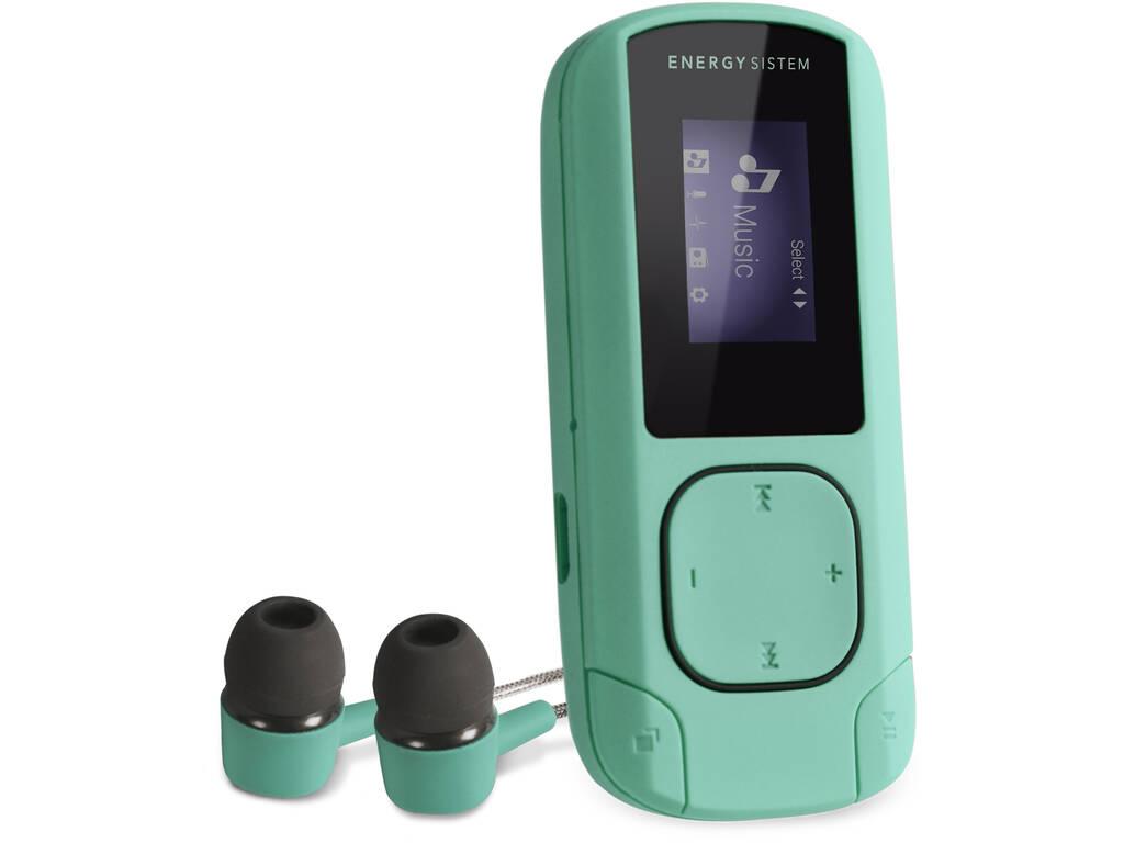 Energy MP3 Clip Mint 8GB Radio FM y MicroSD