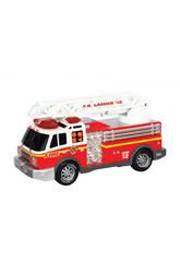 Camión De Bomberos Rush & Rescue 30 cm.