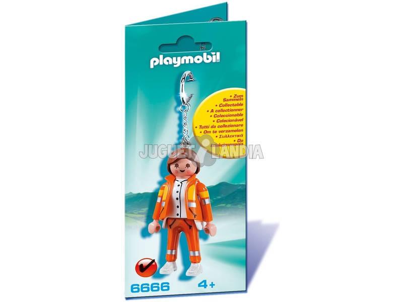 Playmobil Llavero Servicio de Emergencias