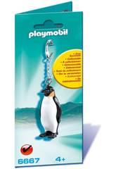 Playmobil Chaveiro Pinguim