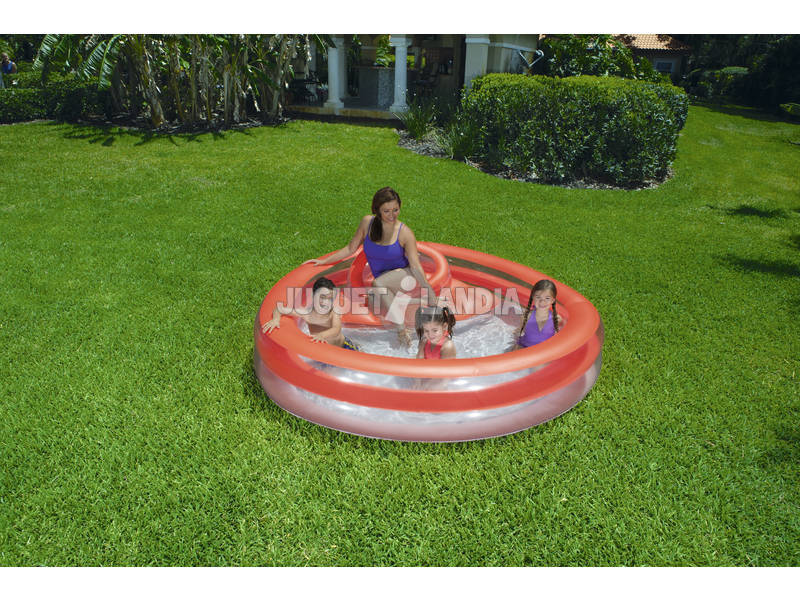 Piscina hinchable family funday lounge 232x229x63 cm for Piscinas hinchables online