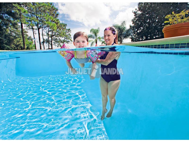 Manguitos barbie 23x15 cm bestway 93203 juguetilandia for Manguitos piscina