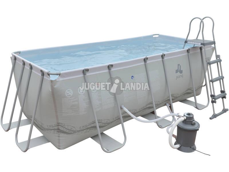 Acheter piscine hors sol 400x207x122 cm avec purateur for Acheter piscine hors sol