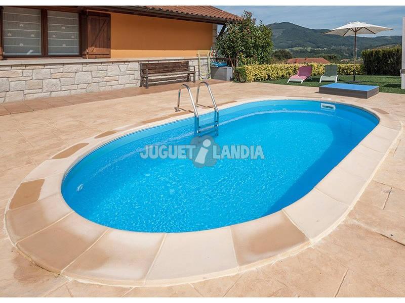 Acheter piscine enterr e gre madagascar 800x400x150 cm for Acheter piscine enterree