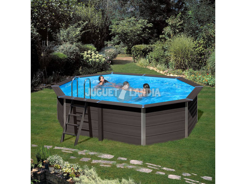 Acheter piscine bois composite pool 804 x 386 x 124 cm gre for Piscine bois composite