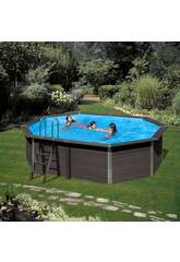 Piscina Madera Gre Composite Pool 524x386x124 cm.
