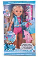 Muñeca Nancy un Día Cuidando Delfines 40 cm Famosa 700013515