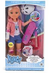 Nancy Una giornata con lo Skateboard