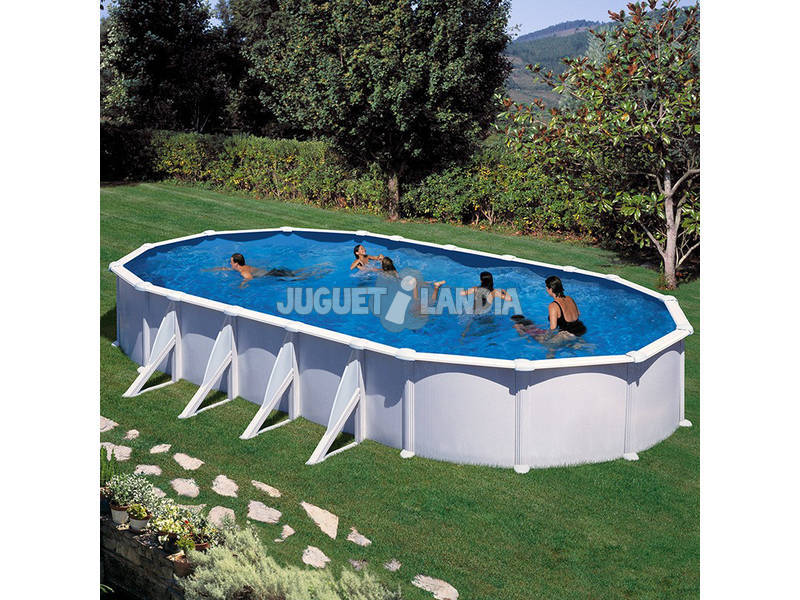 Acheter piscine gre ovale atlantis 500x350x132 cm for Atlantis piscine