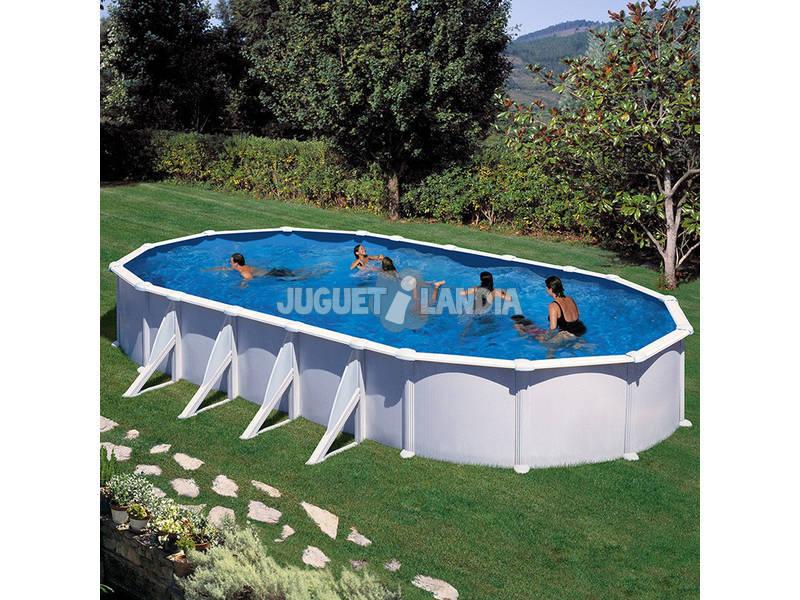 Acheter piscine gre ovale atlantis 500x350x132 cm for Piscine atlantis