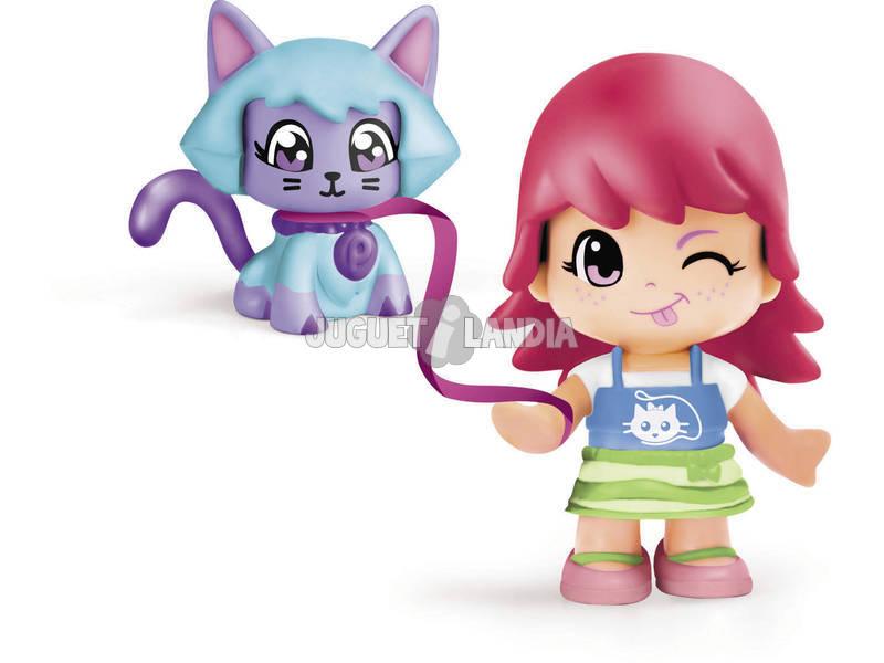 Pin y Pon Figura con Mascota. Famosa 700013364