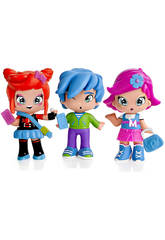 Pin et Pon Piny Pack 3 Figurines