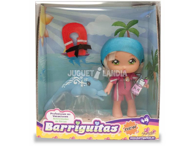 Muñecas Barriguitas Vacaciones Profesiones Surtido 12 cm Famosa 700013442