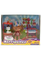 Muñecas Barriguitas Vacaciones Tiendas Surtido 12 cm Famosa 700013443