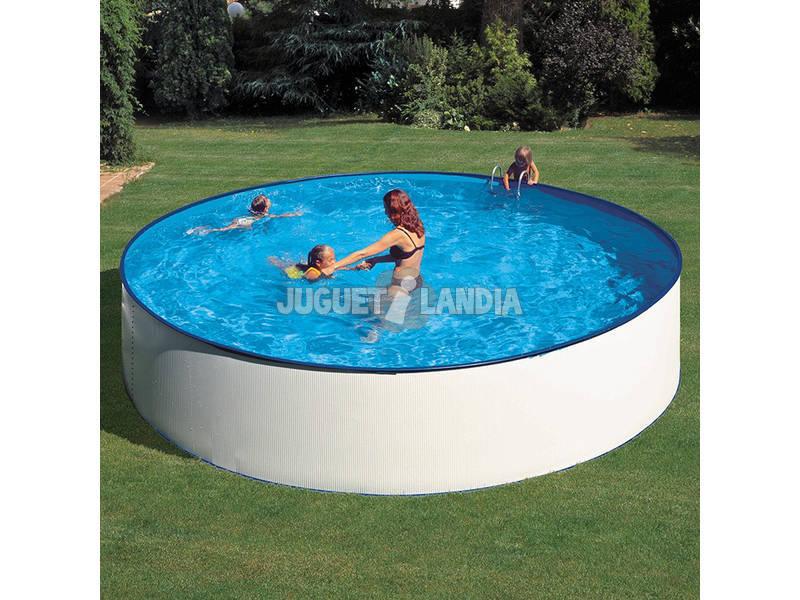 Acheter piscine gre lanzarote ronde 450x90 cm juguetilandia for Acheter liner piscine