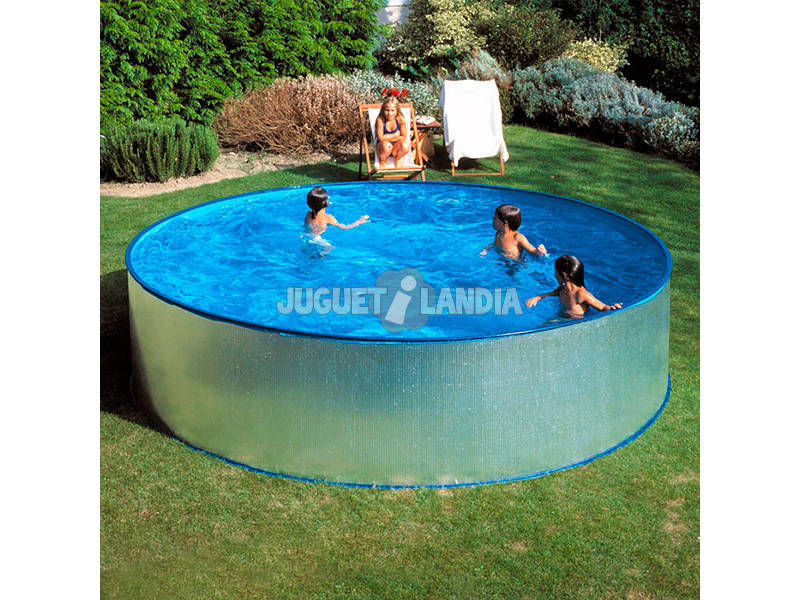 Piscina redonda tenerife 450x90 cm gre kitwpr450e - Liner piscina redonda ...
