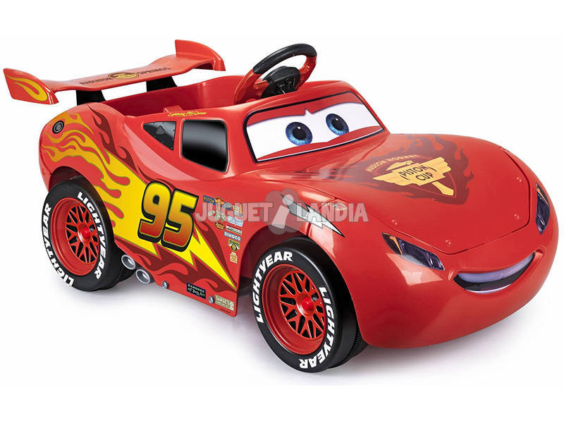 acheter cars 3 flash mcqueen voiture 6v feber famosa 800011147 juguetilandia. Black Bedroom Furniture Sets. Home Design Ideas