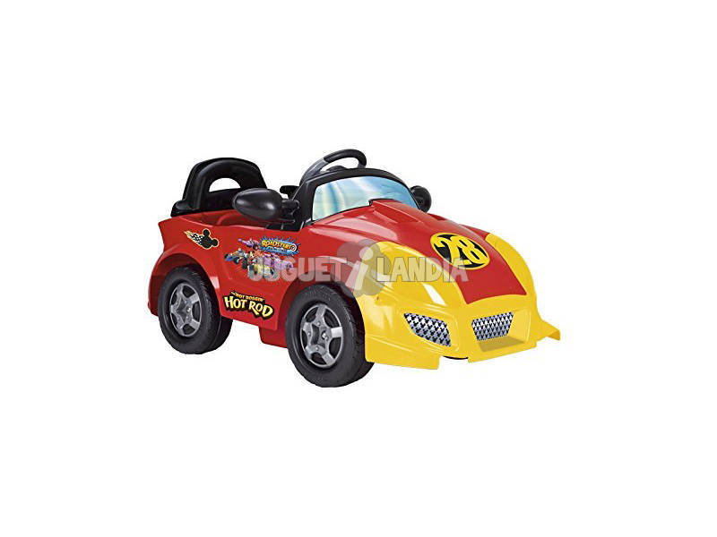 Coche 6v. Mickey and The Roadster Racers