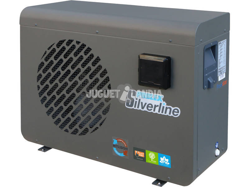 Bomba De Calor Poolex Silverline 70 Poolstar PC-SILVERPRO-70
