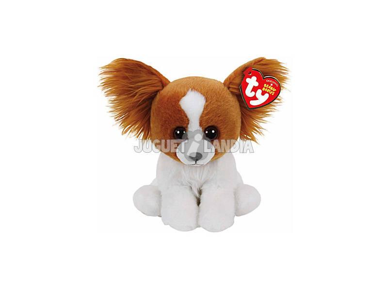 Peluche Beanie Babies Barks Brown Dog