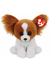 Peluche Beanie Babies Barks Brown Dog