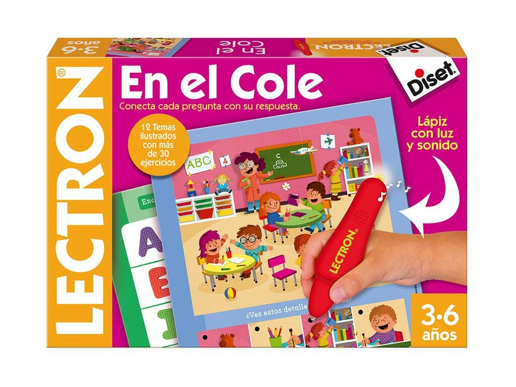 Lectron en el Cole Diset 64880